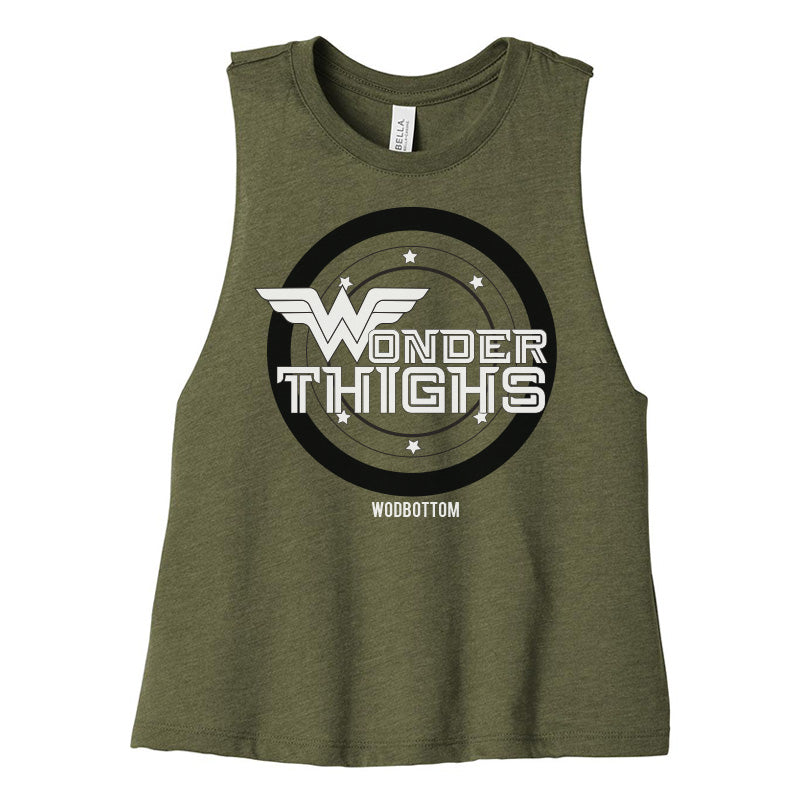 Wonder Thighs Halter Crop