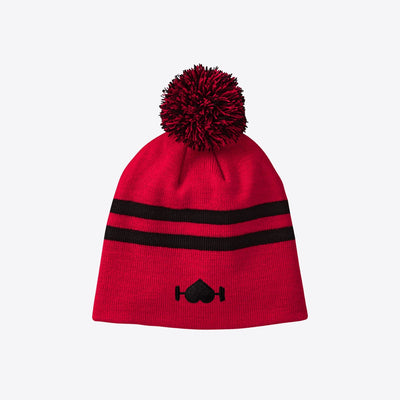 Bright Red Beanie - WodBottom