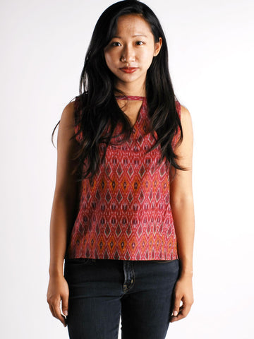 The Ikat Stacy Top