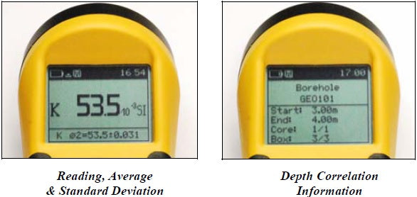 Magnetic Susceptibility Meter and Conductivity Meters