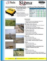 Cabless Seismic Data Acquisition System