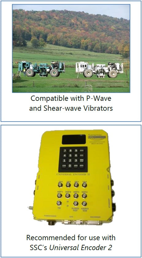 Seismic Vibrator Control Systems