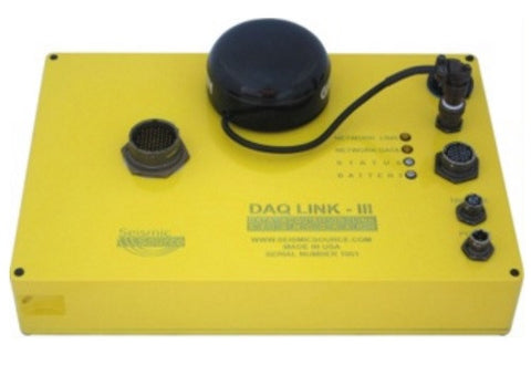 High Resolution Versatile Seismic Recording system - DAQLink 3