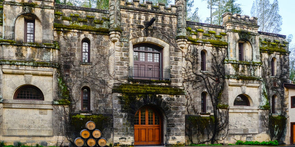 Chateau Montelena winery - california, USA - romantic date location