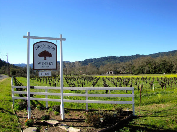 casa nuestra winery - best vinyards in california