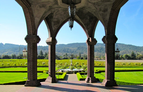 Ledson vinyard california most romantic winery