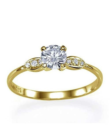 vintage unique engagement rings under 2000