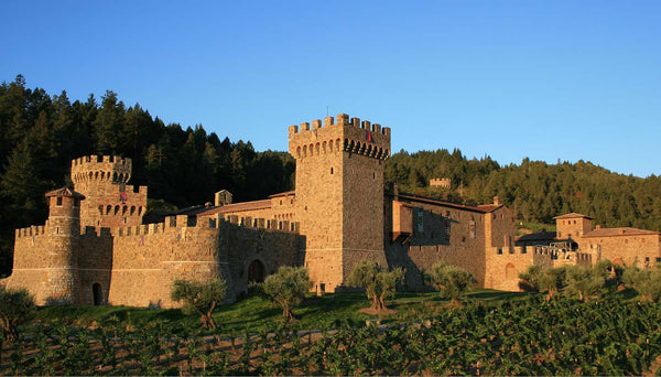Castillo di Amorosa most romantic vineyard california