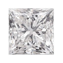 Loose Diamond 0.25 carat Princess Cut Diamond - D/VS1 Natural Excellent Cut - AIG Certified