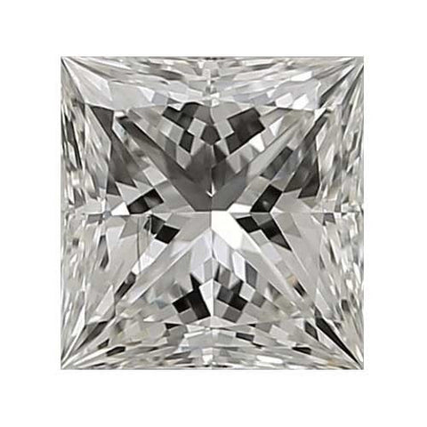 Loose Diamond 0.25 carat Princess Cut Diamond - I/SI1 CE Very Good Cut - AIG Certified