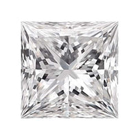 Loose Diamond 0.25 carat Princess Diamond - D/I1 Natural Excellent Cut - AIG Certified