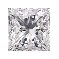 Loose Diamond 0.25 carat Princess Diamond - D/VS2 Natural Very Good Cut - AIG Certified