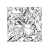 Loose Diamond 0.25 carat Princess Diamond - E/SI2 Natural Excellent Cut - AIG Certified