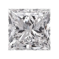 Loose Diamond 0.25 carat Princess Diamond - E/SI3 Natural Excellent Cut - AIG Certified