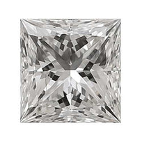 Loose Diamond 0.25 carat Princess Diamond - G/SI1 Natural Very Good Cut - AIG Certified