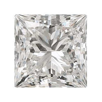 Loose Diamond 0.25 carat Princess Diamond - H/SI2 CE Very Good Cut - AIG Certified