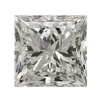 Loose Diamond 0.25 carat Princess Diamond - I/SI3 CE Very Good Cut - AIG Certified