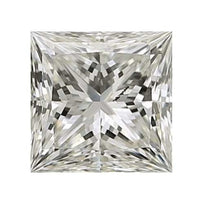 Loose Diamond 0.25 carat Princess Diamond - J/I1 CE Very Good Cut - AIG Certified