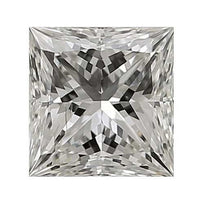Loose Diamond 0.25 carat Princess Diamond - J/SI1 CE Very Good Cut - AIG Certified