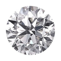 Loose Diamond 0.25 carat Round Diamond - D/I1 Natural Very Good Cut - AIG Certified