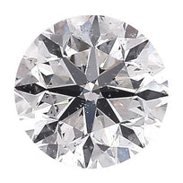 Loose Diamond 0.25 carat Round Diamond - D/SI3 Natural Signature Ideal Cut - AIG Certified