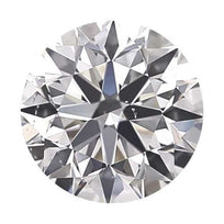 Loose Diamond 0.25 carat Round Diamond - D/VS2 Natural Good Cut - AIG Certified