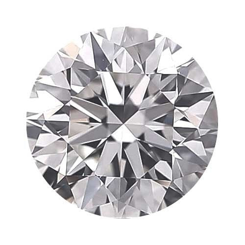 0.25 carat Round Diamond - D/VVS2 Natural Excellent Cut - TIG Certified - Custom Made