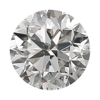 Loose Diamond 0.25 carat Round Diamond - G/I1 CE Good Cut - AIG Certified