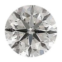 Loose Diamond 0.25 carat Round Diamond - H/SI3 CE Good Cut - AIG Certified