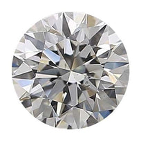 Loose Diamond 0.25 carat Round Diamond - J/SI1 CE Very Good Cut - AIG Certified Conflict Free