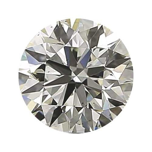 0.25 carat Round Diamond - J/VS1 CE Good Cut - TIG Certified - Custom Made