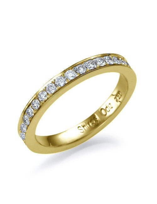 0.32 carat Diamond Wedding Anniversary Ring in 14k White, Yellow or Rose Gold - Custom Made