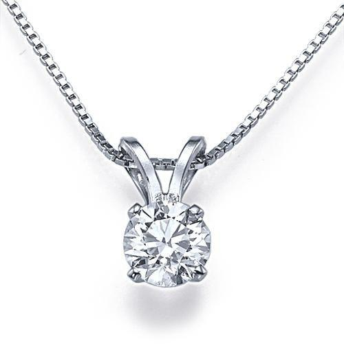 Pendants 0.35ctw E/SI1 Classic Diamond Pendant - Limited Offer  (Only 5 Available)