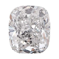 Loose Diamond 0.5 carat Cushion Diamond - E/I1 Natural Excellent Cut - AIG Certified
