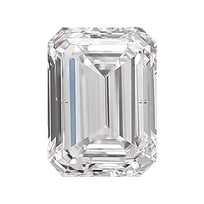 Loose Diamond 0.5 carat Emerald Diamond - E/VS2 Natural Very Good Cut - AIG Certified