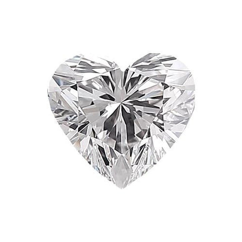 Loose Diamond 0.5 carat Heart Diamond - F/VS1 Natural Excellent Cut - AIG Certified