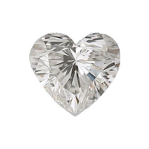 Loose Diamond 0.5 carat Heart Diamond - G/SI1 Natural Excellent Cut - AIG Certified