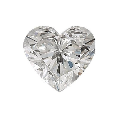 Loose Diamond 0.5 carat Heart Diamond - G/SI2 Natural Excellent Cut - AIG Certified