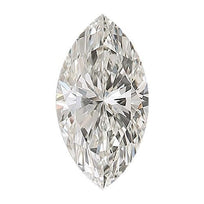 Loose Diamond 0.5 carat Marquise Cut Diamond - H/VS2 Natural Excellent Cut - AIG Certified