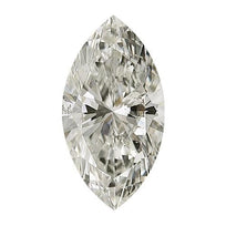 Loose Diamond 0.5 carat Marquise Cut Diamond - J/SI2 Natural Excellent Cut - AIG Certified