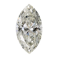 Loose Diamond 0.5 carat Marquise Cut Diamonds - I/SI3 Natural Very Good Cut - AIG Certified