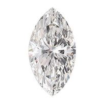 Loose Diamond 0.5 carat Marquise Diamond - D/VS2 Natural Excellent Cut - AIG Certified