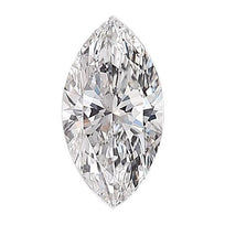Loose Diamond 0.5 carat Marquise Diamond - F/SI1 Natural Excellent Cut - AIG Certified