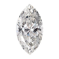 Loose Diamond 0.5 carat Marquise Diamond - F/SI3 Natural Excellent Cut - AIG Certified