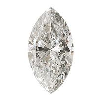 Loose Diamond 0.5 carat Marquise Diamond - G/I1 Natural Very Good Cut - AIG Certified