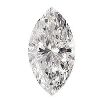 Loose Diamond 0.5 carat Marquise Diamonds - E/SI2 Natural Excellent Cut - AIG Certified