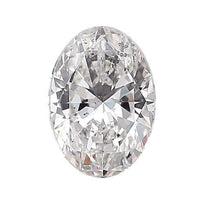 Loose Diamond 0.5 carat Oval Cut Diamond - D/I1 CE Very Good Cut - AIG Certified