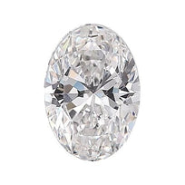 Loose Diamond 0.5 carat Oval Diamond - E/SI1 Natural Excellent Cut - AIG Certified