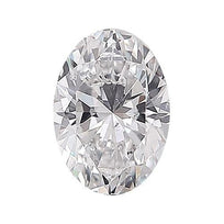 Loose Diamond 0.5 carat Oval Diamond - E/SI2 Natural Excellent Cut - AIG Certified