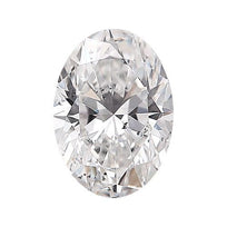 Loose Diamond 0.5 carat Oval Diamond - E/SI3 CE Excellent Cut - AIG Certified